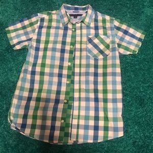 Boys Plaid Tommy Hilfiger shirt